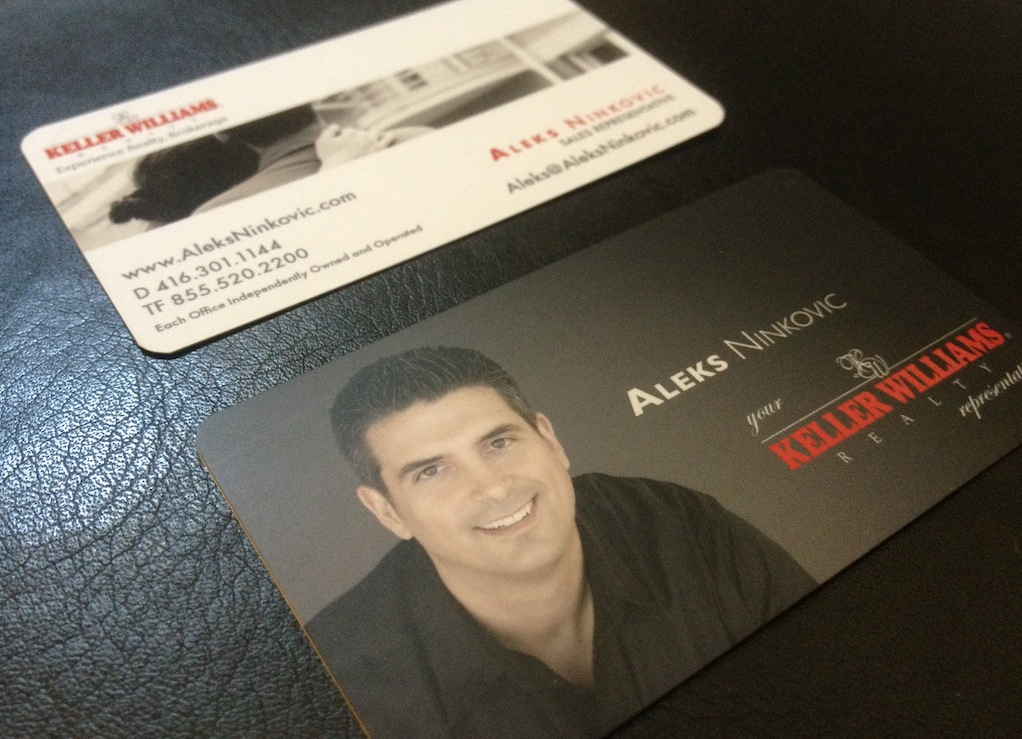 Aleks Ninkovic – Keller Williams Realty Business Cards